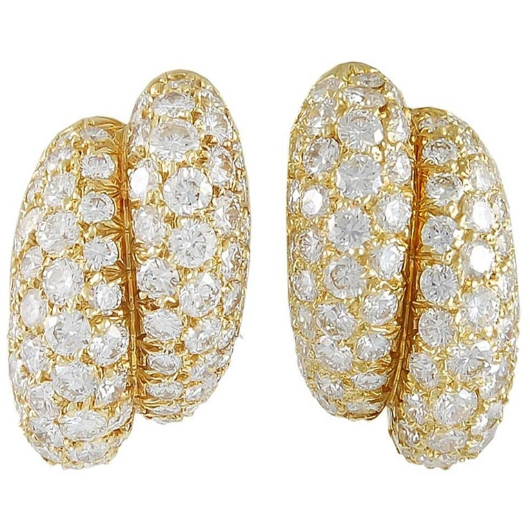 Van Cleef & Arpels Diamond Earrings