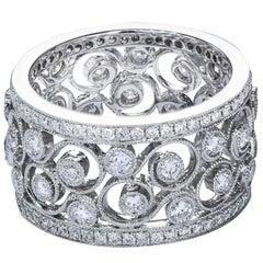 Diamond Antique Style Fashion Band Ring