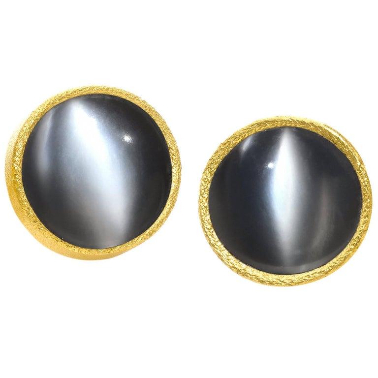 Devta doolan glowing cat 39 s eye moonstone petite round for Cat s eye moonstone jewelry