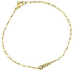 Daou Spark Diamond Bracelet in Yellow Gold