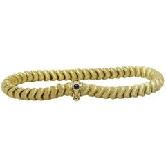 Ladies Chiampesan Italy Yellow Gold Bracelet