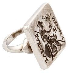 Sterling Silver ATHENA Ring by John Landrum Bryant