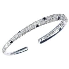 """Kwiat """"Cobblestone"""" Diamond Bracelet in 18 Karat White Golda"""