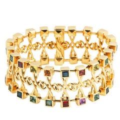 John Landrum Bryant: Sapphire Fantasy Bracelet