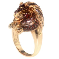 The Lioness Ring, a Zorab Creation