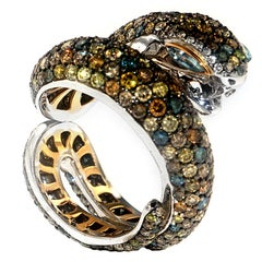 Sunbeam Snake Ring, a Zorab Creation