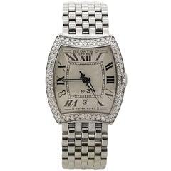 Bedat & Co Stainless Steel No 3 Double Diamond Bezel Manual Wristwatch Ref. 314