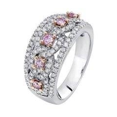 Argyle Pink Diamonds Dress Ring