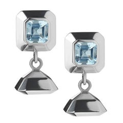 TPL Silver Topaz Drop Earrings