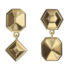 TPL Vermeil Geometric Drop Earrings