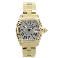 Cartier Ladies Yellow Gold Roadster Quartz Wristwatch Ref W62018V1