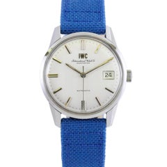 International Watch Company IWC Stainless Steel Automatic Wristwatch, c 1960s