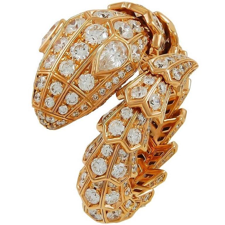 Bulgari Diamond Serpenti Ring