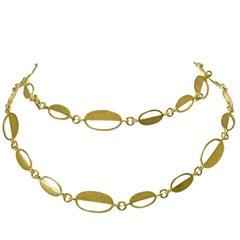 Italian 18 Karat Gold Handmade Chain