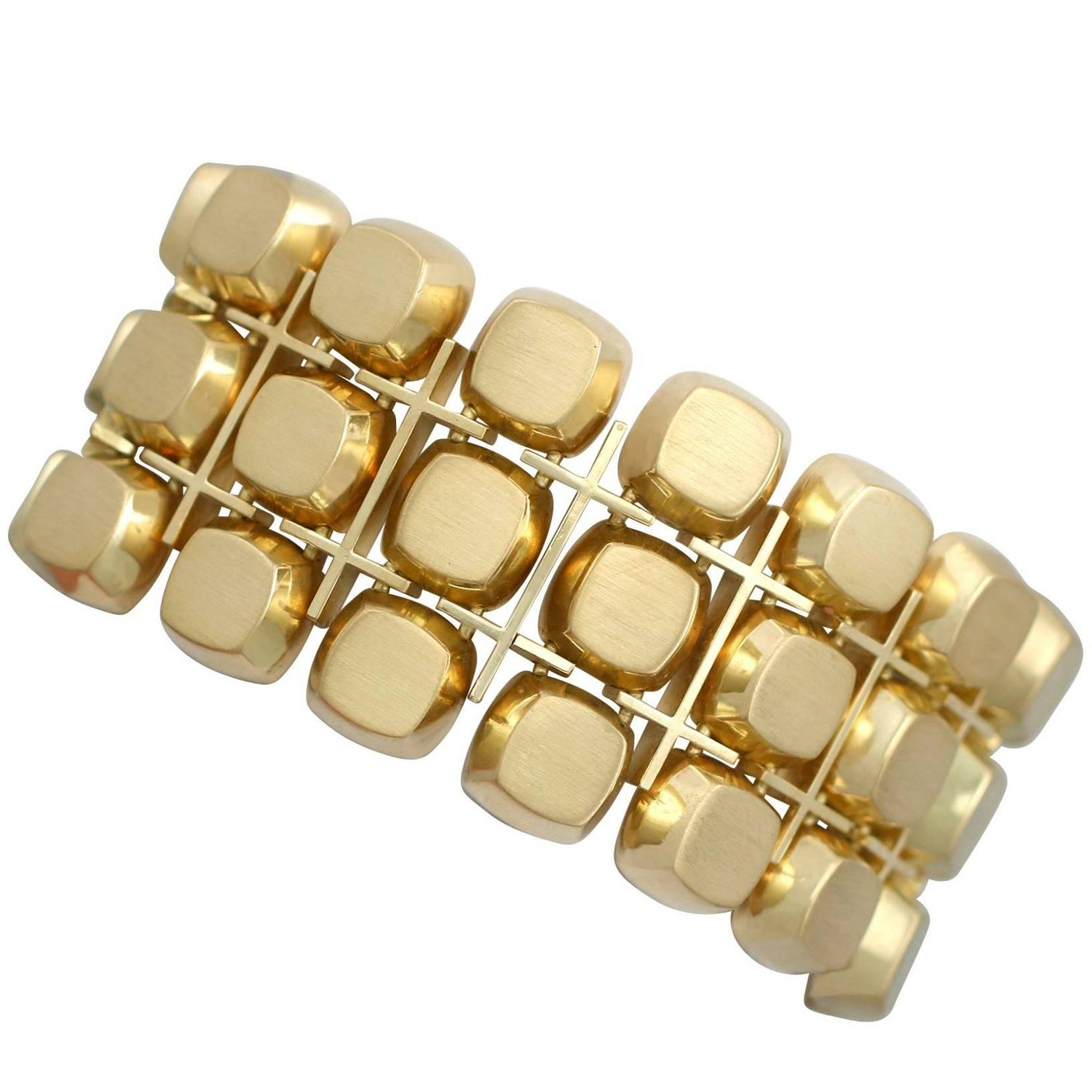 winkel collection en bracelet ray large leather caramel bracelets silver color mm gold sophiedesutter
