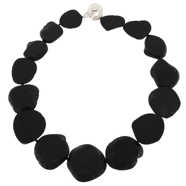 Jona Black Tourmaline Necklace