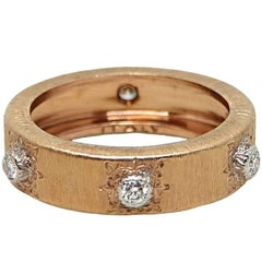 Buccellati Classica Band Rose Gold Ring