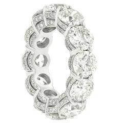 11.70 Carat Round Diamond Eternity Band
