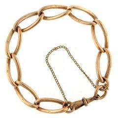 Antique Gold Link Bracelet, circa 1900s