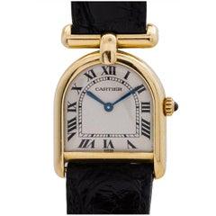 Cartier ladies yellow gold Cloche quartz wristwatch, circa 1990s
