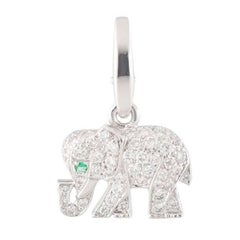 Cartier Diamond Elephant Charm