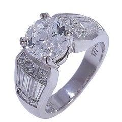 Nova Platinum Diamond Ring