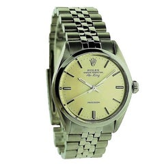 Rolex Stainless Steel Air-King Perpetual Wind Wristwatch, circa 1977