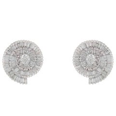 Diamond Stud Earrings 2.35 Carat