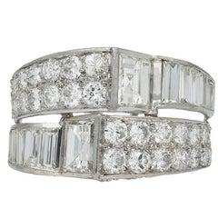 Art Deco Diamond Cocktail Ring, circa 1930