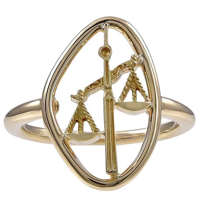 Gold Boucheron Libra Ring