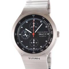 Eterna Titanium 30 Anniversary Porsche Design Titan Wristwatch Ref P'6530