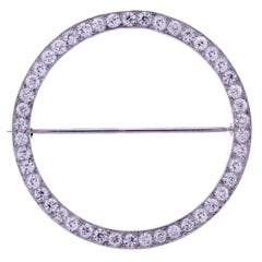 Tiffany & Co. 1930s Circle Brooch