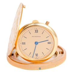 Agassiz $20 Gold Coin Manual Wind Pocket Watch