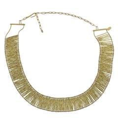 H. Stern Filaments Diamond Gold Necklace