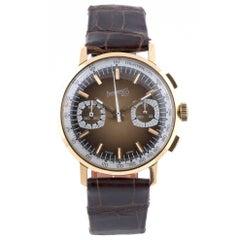 Eberhard & Co. Yellow Gold Chronograph Manual Wristwatch Ref 31007/269