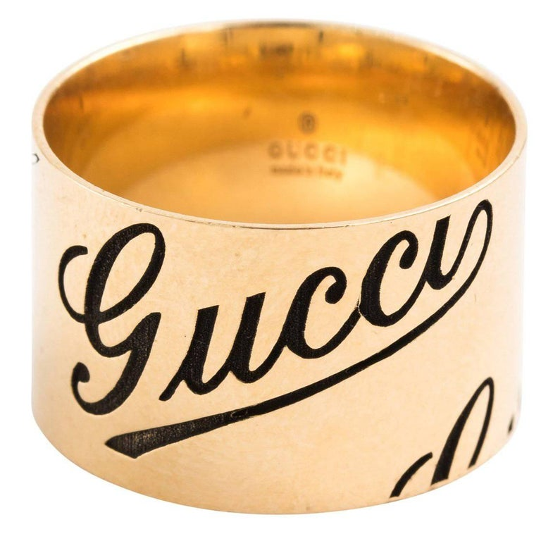 Gucci Gold Band Ring