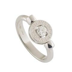 Bulgari White Gold Diamond Ring