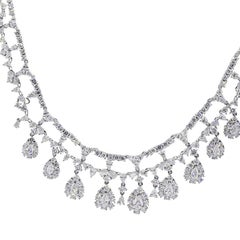 15.95 Carat Diamond Necklace