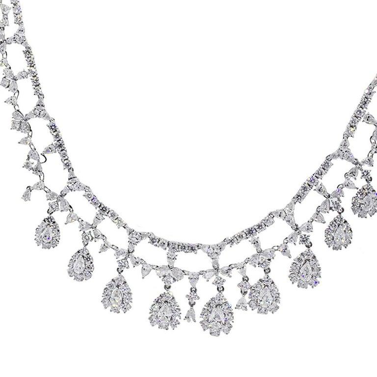 15.95 Carat Diamond Necklace