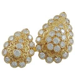 Van Cleef & Arpels Diamond Twin Ring