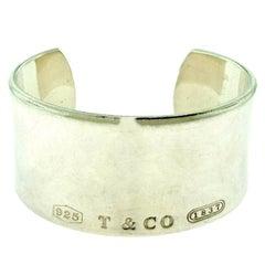 Tiffany & Co. Tiffany 1837 Wide Cuff in Sterling Silver