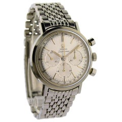 Omega Stainless Steel Chronograph Manual Watch, circa 1960s