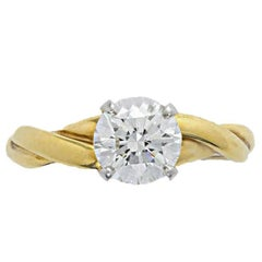 Lazare Kaplan Ideal Cut Diamond Solitaire Ring