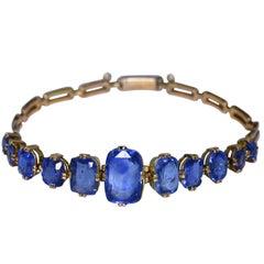 Victorian Sapphire Bracelet