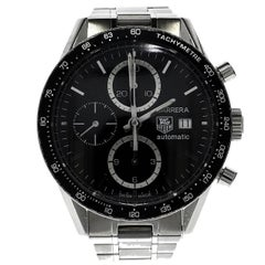 TAG Heuer Stainless Steel Carrera Wristwatch Ref Cv2010