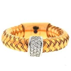 Roberto Coin 18 Karat Rose Gold Primavera Ring