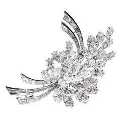 Diamond Brooch by Cusi