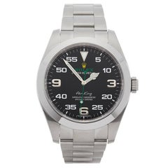 Rolex Air King Stainless Steel Gents 116900, 2017