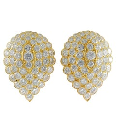 Van Cleef & Arpels Diamond Ear Clips