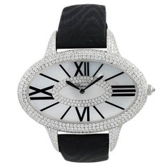 Chopard  Ladies White Gold Diamond Wristwatch